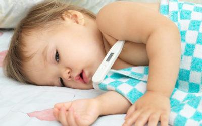 How a Sick Baby Can Derail Sleep Success