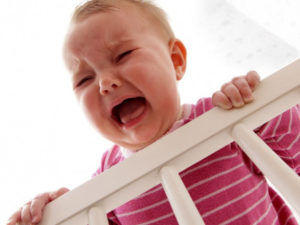 crying baby won't sleep